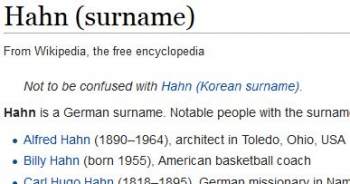 wikiHahn (surname)1