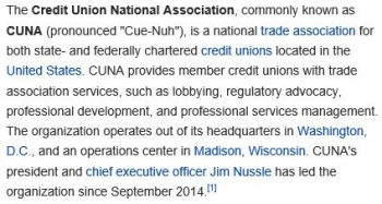 wikiCredit Union National Association