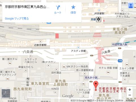 テラスタイル京都 地図