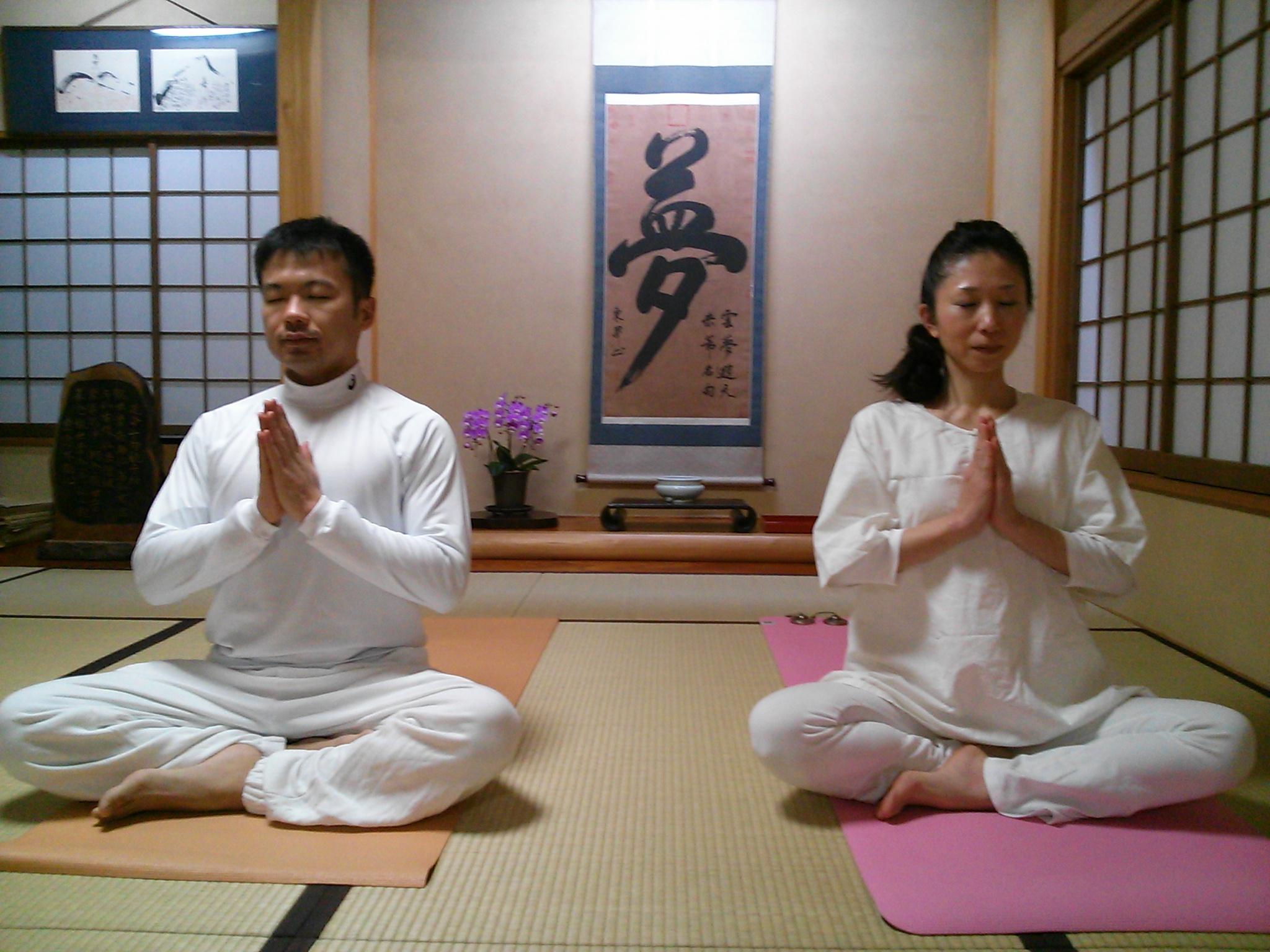 150114夜の瞑想会