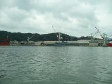 ジャパンマリンユナイテッド舞鶴工場