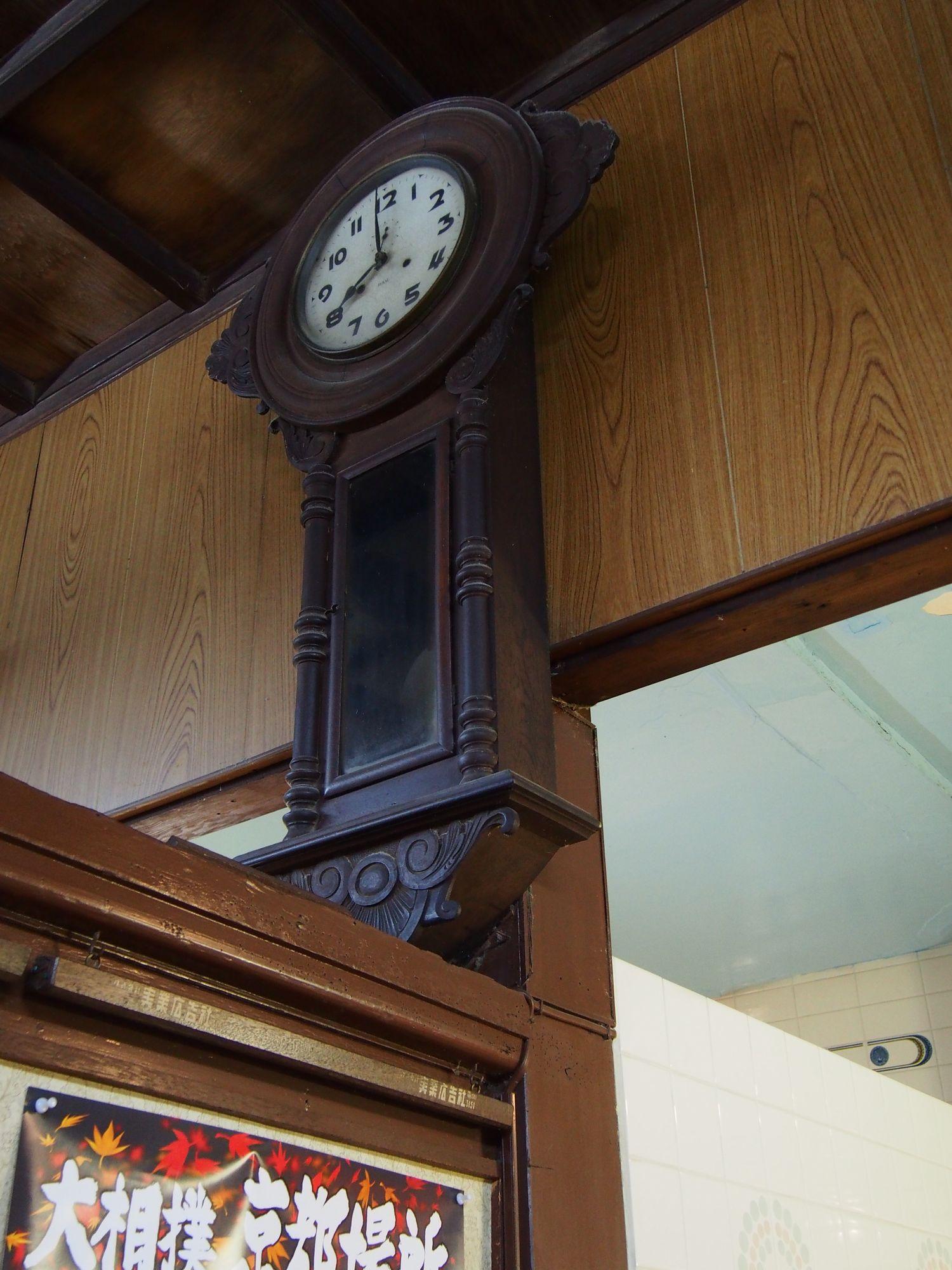 京都市南区 日の出湯 古時計