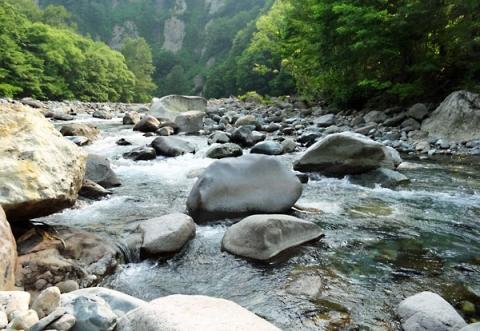 秋山郷渓流釣り