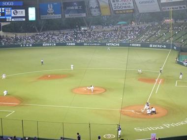 2三塁側内野席0703
