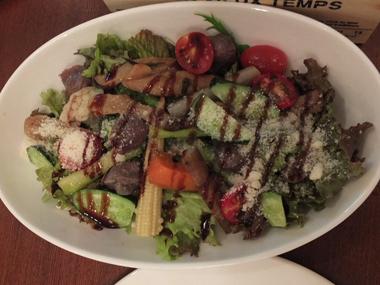 14砂肝の温野菜サラダ0719