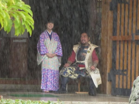 柴田勝家公と濃姫