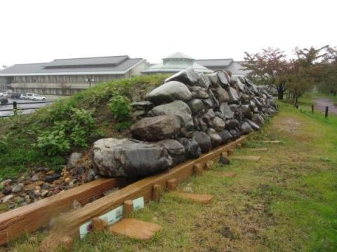 清州城の石垣