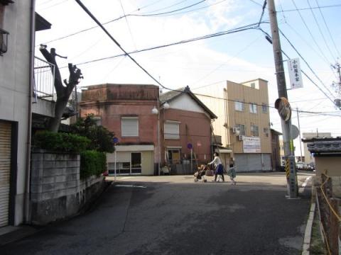 旧東海道・刈谷道分岐点