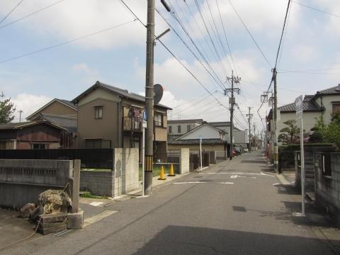 旧東海道・駒場道分岐点