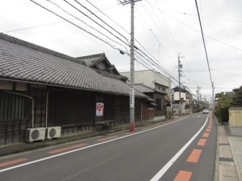 旧東海道 知立市牛田町