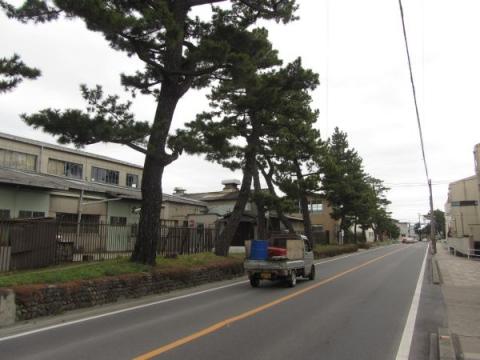 旧東海道 安城市里町大道寺