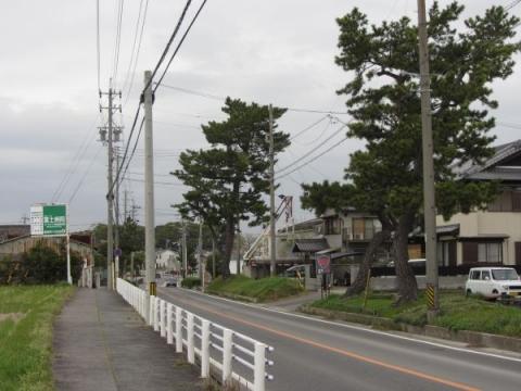 旧東海道 安城市今本町石田