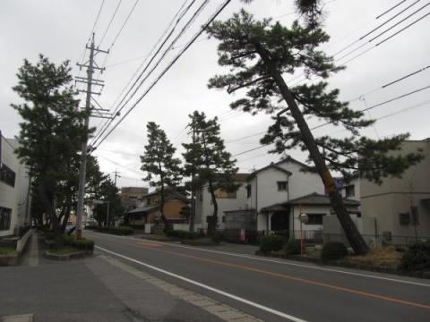 旧東海道 安城市東栄町