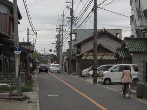 旧東海道 宇頭茶屋町