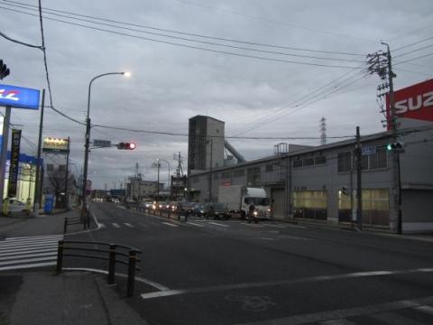 国道1号 鹿乗橋東交差点