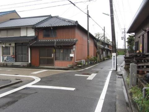 旧東海道 岡崎市八帖町