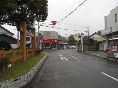 岡崎宿東入口