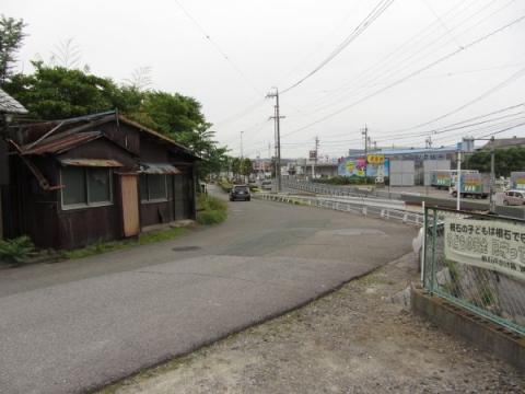 旧東海道 岡崎市欠町