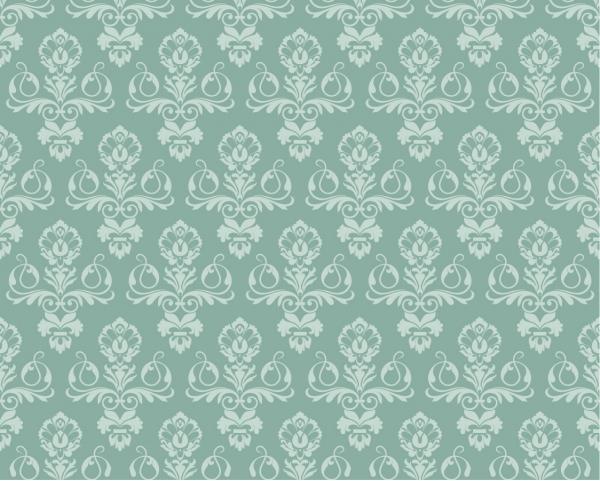 ダマスク模様の壁紙 Damask Wallpaper Pattern