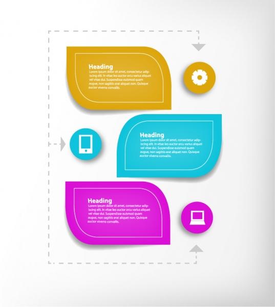 葉をモチーフにしたインフォグラフィックス デザイン Leaf infographic icon vector design