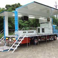 トラックの移動水族館