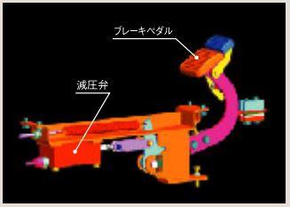 動油圧ブレーキ