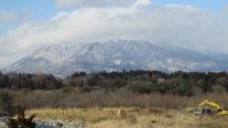 土手からの那須連山