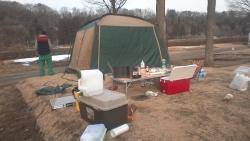 冬キャンプ1