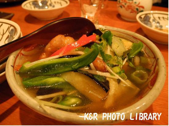 1月8日鶏と京野菜のあんかけ