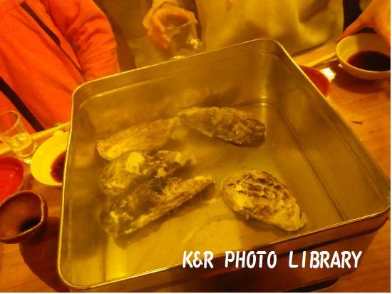 1月31日一年牡蠣缶蒸し2