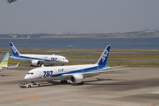 全日空ANA-787