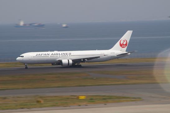 日本航空JAL着陸
