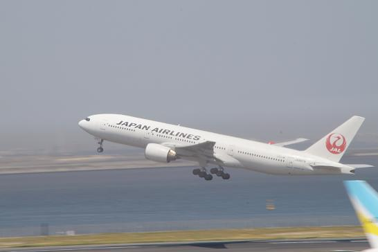 日本航空JAL着陸2