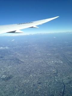 ANA 日本上空