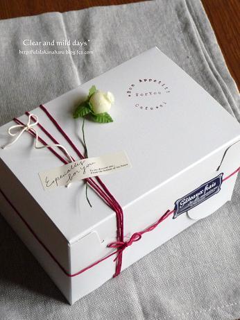 門出の贈り物~マドレーヌ2種
