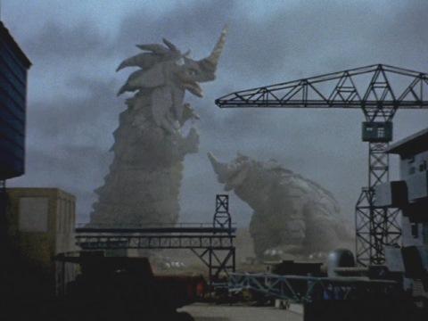 竜巻怪獣 シーゴラス & 津波怪獣 シーモンス