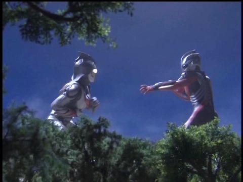 ウルトラマンネクサス vs ダークメフィスト