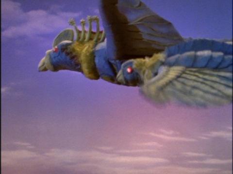 鳥怪獣 フライングライドロン(親・子)