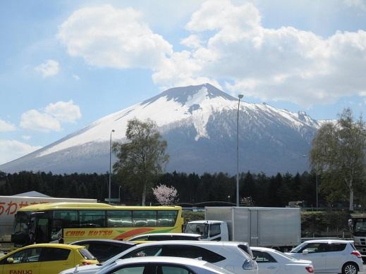 岩手山SAです
