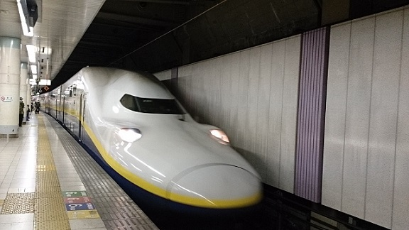 久々の新幹線~♪
