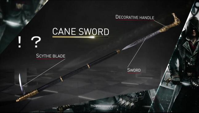 仕込み刀-鎌