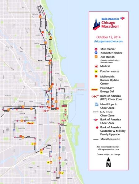 SANDA CITY MARATHON   シカゴマラソン2014 その3