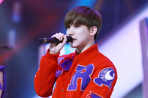 ビックビョン ヒョクティ 141231 MBC歌謡大祭典9