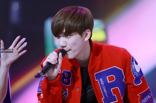 ビックビョン ヒョクティ 141231 MBC歌謡大祭典11