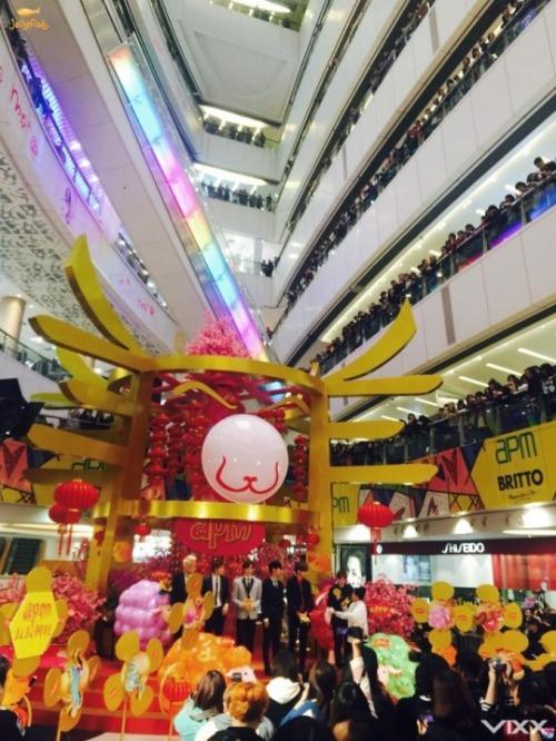 VIXX 5日間の北京&香港訪問記34