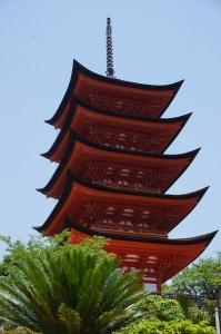 広島 五重塔