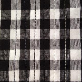 初縫いギンガム5