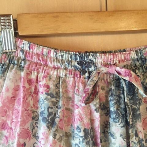 春色ティアードスカート3