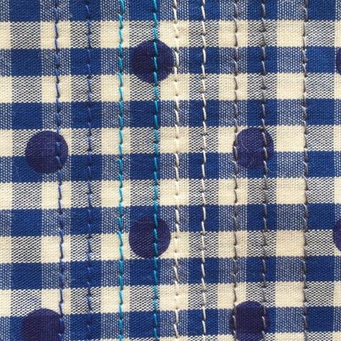 ギンガムドットシャツ8