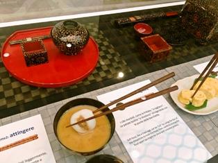 和食の展示